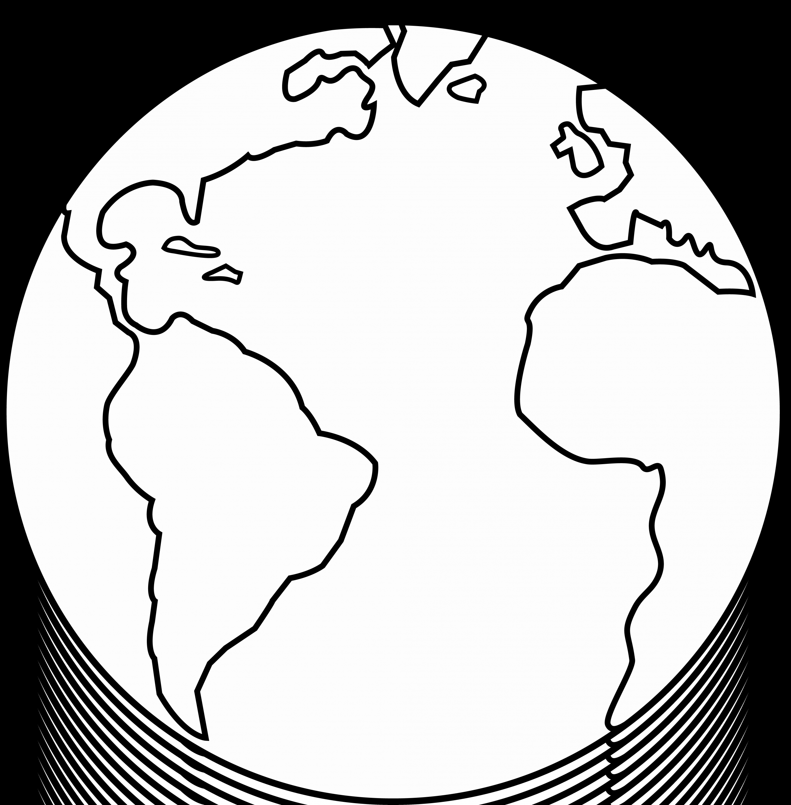 Planet Earth Coloring Page Inspirational Earth Clipart Black And White In 2020 Earth Coloring Pages Planet Coloring Pages Coloring Pages