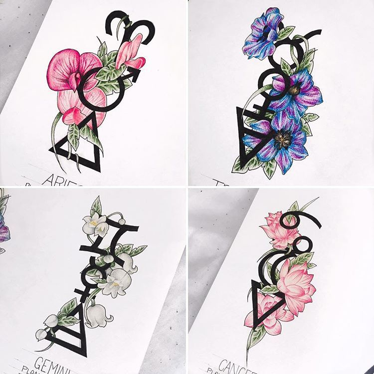 I've been working on the next 6 zodiac signs finally ...