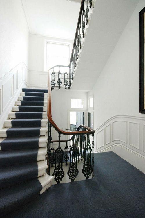 Best White Iron And Wood Original Iron Railing Desire To 400 x 300