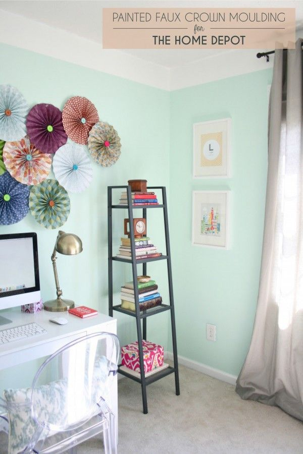 the home depot guest post painted faux crown moulding on home depot paint sale id=99343