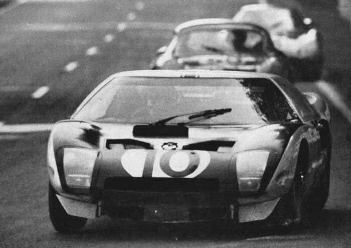 1964 Lemans Ford Gt 40 10 Phil Hill Bruce Mclaren Ret 192 Laps