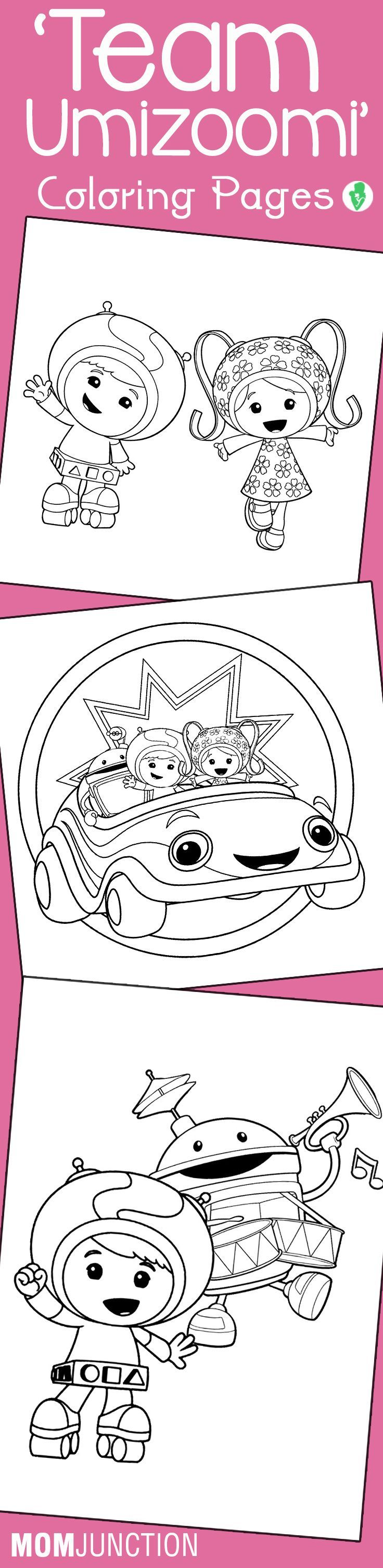10 Best \'Team Umizoomi\' Coloring Pages For Your Toddler