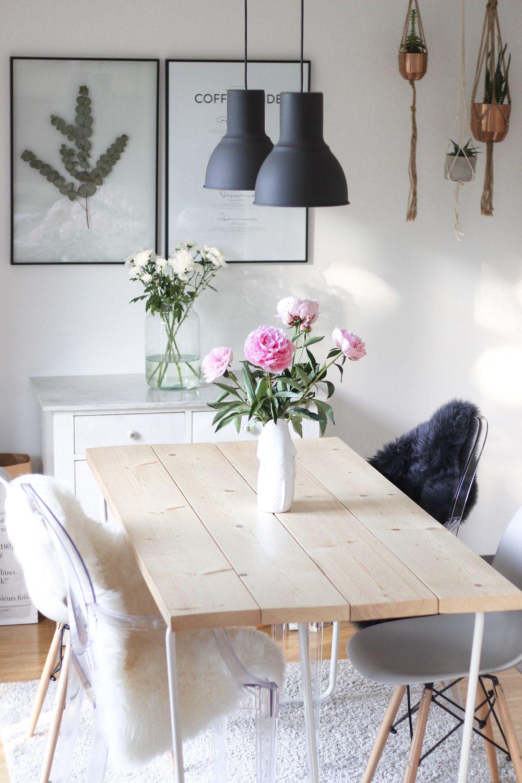 Diy esszimmertisch selber machen heimwerken dining for Esszimmertisch selber bauen