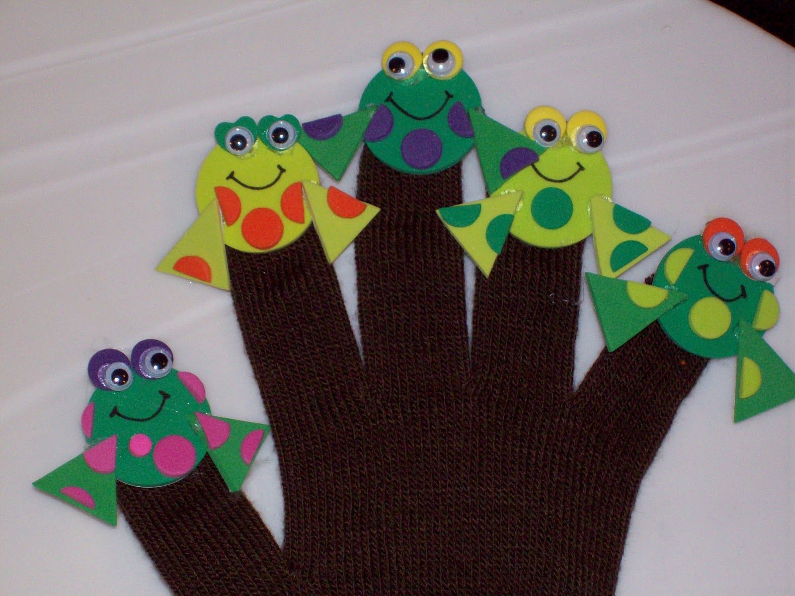Frog Arts And Crafts For Kids