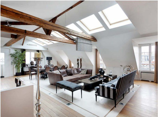 Un appartement sous les toits de Paris | PLANETE DECO a homes ...