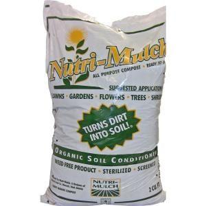 Nutri Mulch 2 Cu Ft Organic Soil Conditioner 101323 The Home Depot Organic Soil Soil Conditioner Manure Composting