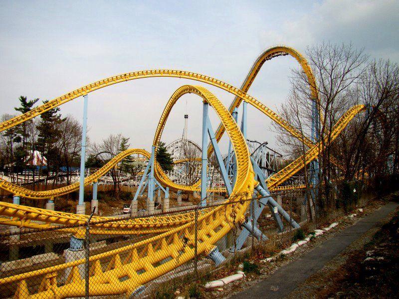 Hersheypark Skyrush Construction Update 100 3 23 12 Trackwork