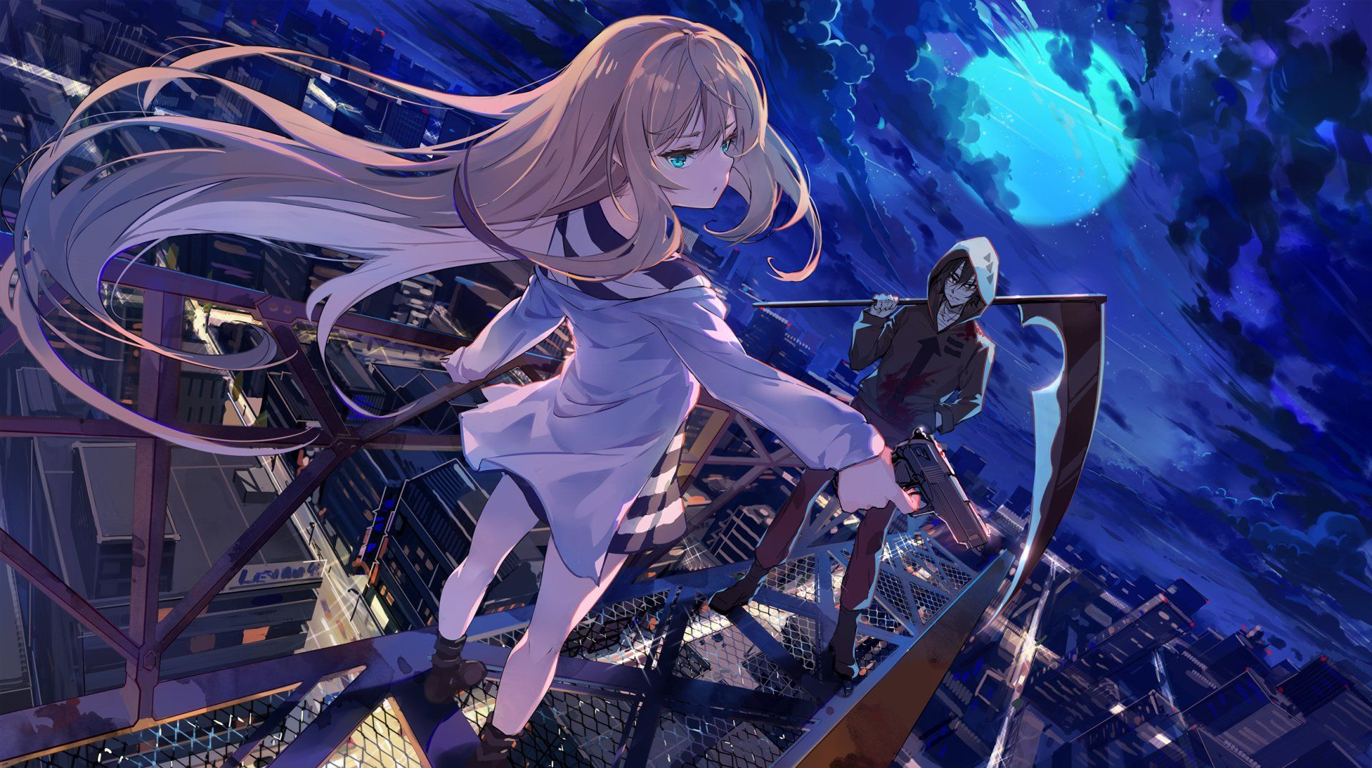 Photo of 2500×1400 Angels Of Death Wallpaper Background Image. View, download, comment, a…