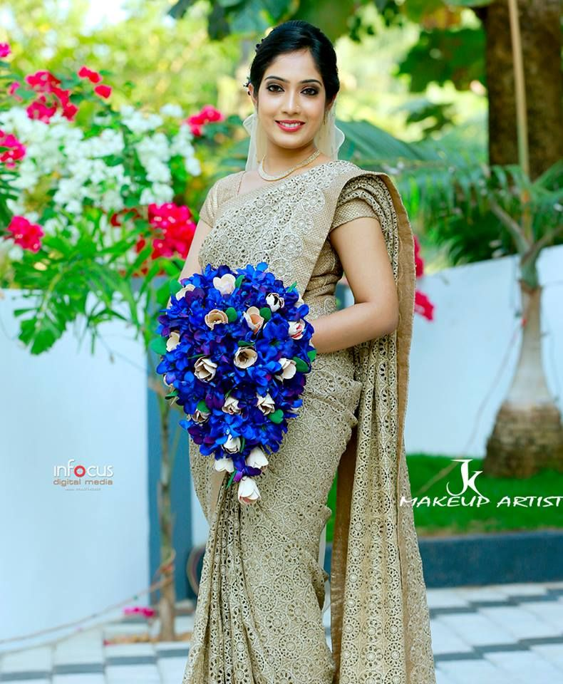 Christian wedding dress in kerala