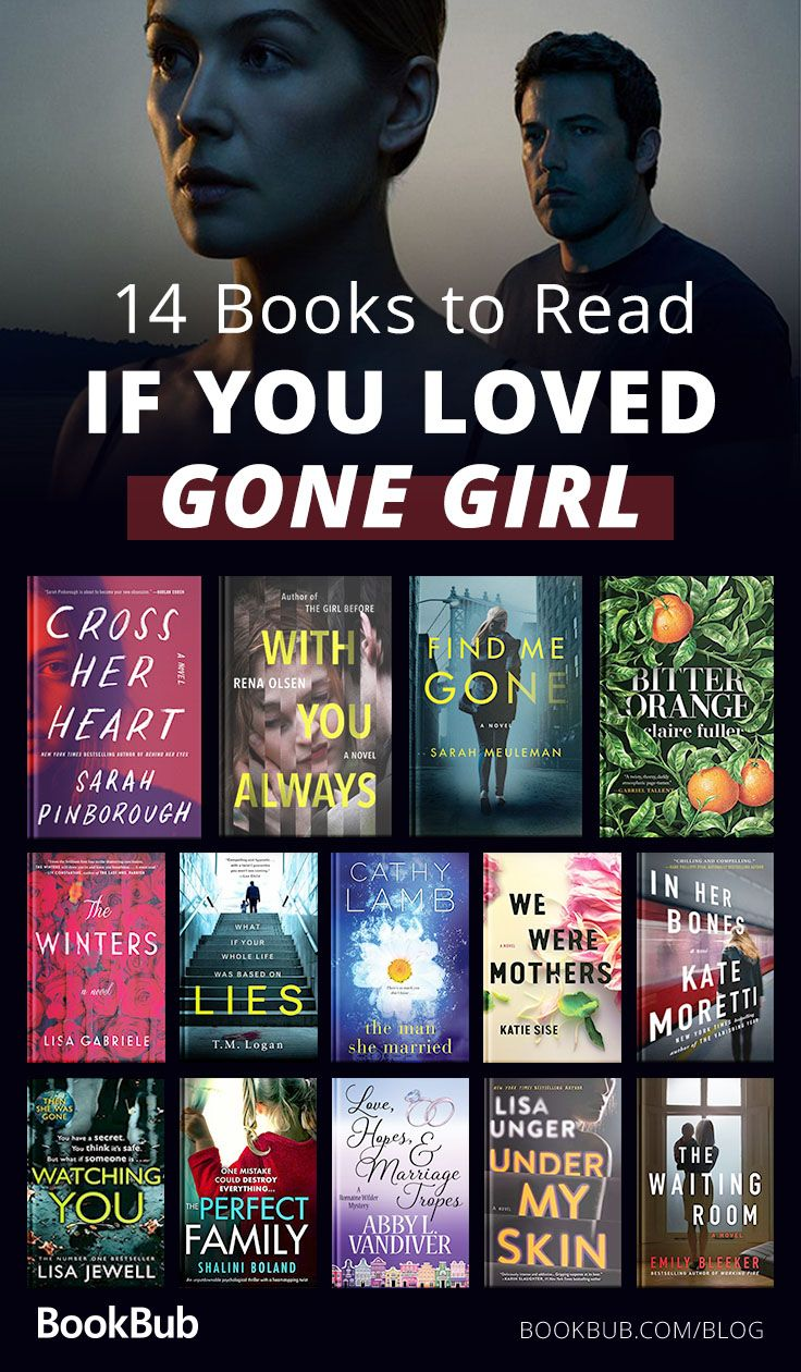 14 Psychological Thrillers That Could Be The Next 'Gone Girl' #bookstoread