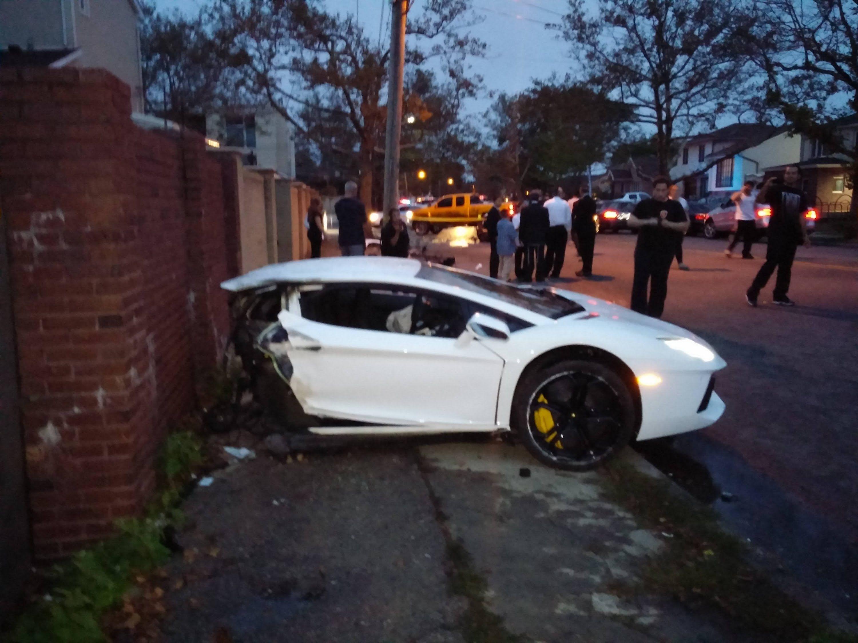 21 Savage Car Crash Lamborghini Car Repair Service