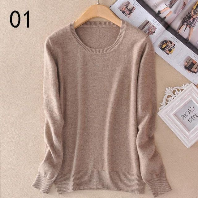 Buy Sweater Women Pullovers 2016 Winter Long Sleeve Wool Female ...