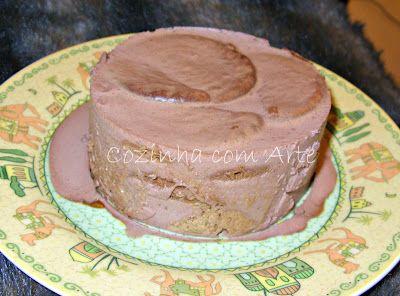 Cozinha com Arte: bolo de bolacha, nata e chocolate
