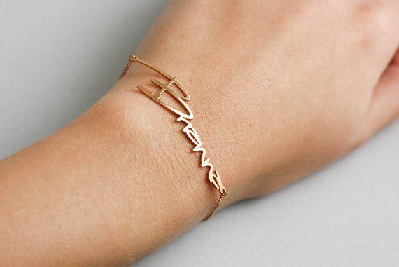Verbazingwekkend Naam Armband - Aangepaste Baby Naam Kind Kids Armband DN-35