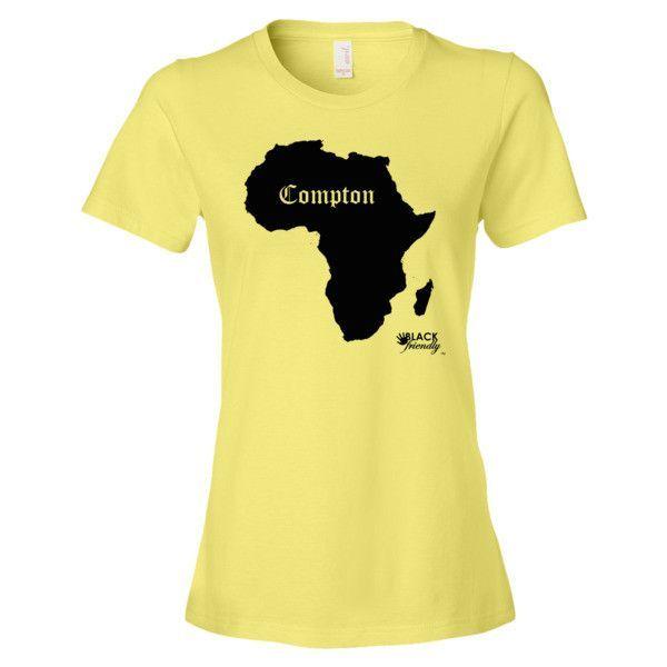 Compton - Black Silo - Women's short sleeve t-shirt