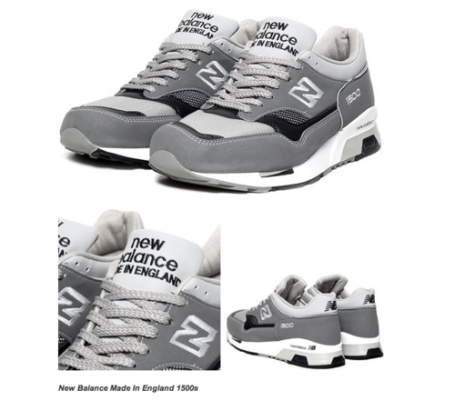 New Balance Made In England 1500s