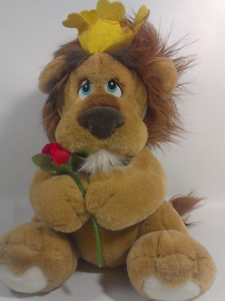Applause King LIONHEART Plush Stuffed Animal LION Cat King