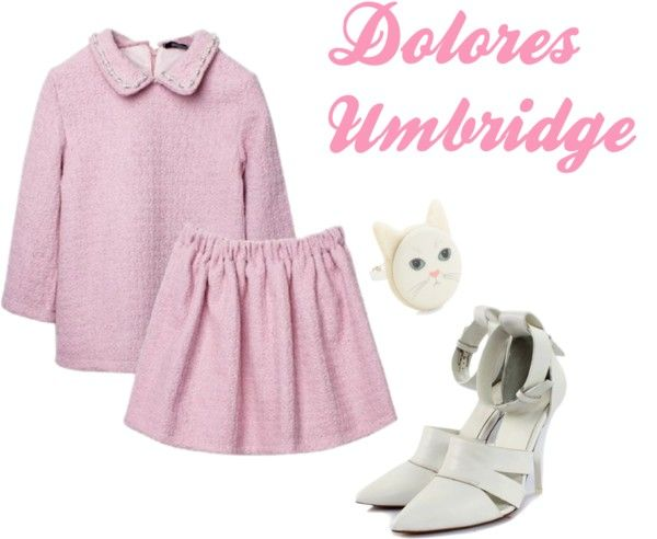 """Not at all, Dolores"" by camik on Polyvore"