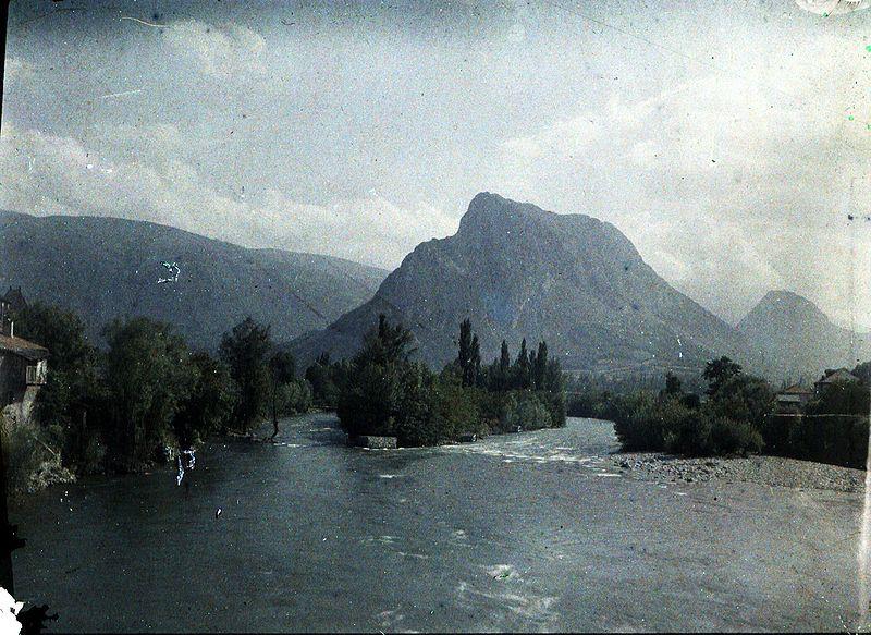 Eugène Trutat (1840-1910): Montagne de Sedour, Tarascon