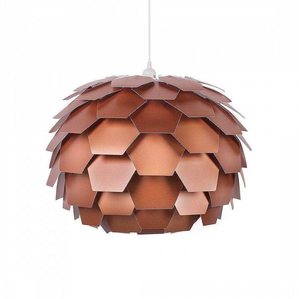 Lampe Kupfer - Deckenlampe - Deckenleuchte - Hängelampe ...