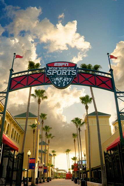 Espn Wide World Of Sports Main Entrance In 2020 World Wide Sports World Of Sports Sport Park