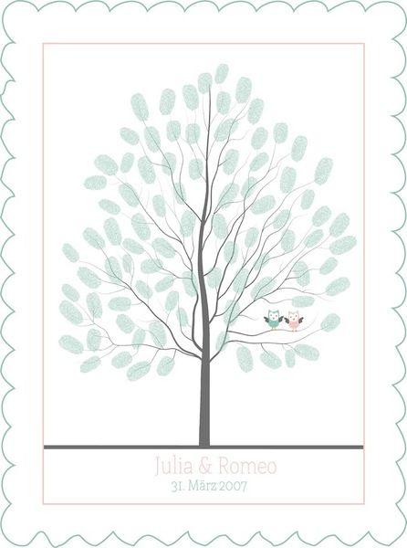 wedding tree #1 - Gästebuch der besonderen Art!