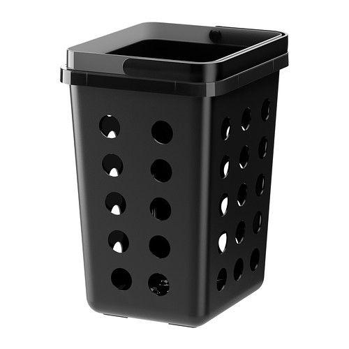 VARIERA Abfalltrennbehälter, belüftet, schwarz Küche Pinterest