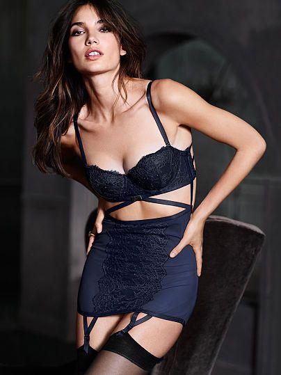 e1f05fb2fe4 Strappy Chantilly Lace Garter Slip Very Sexy Boudoir