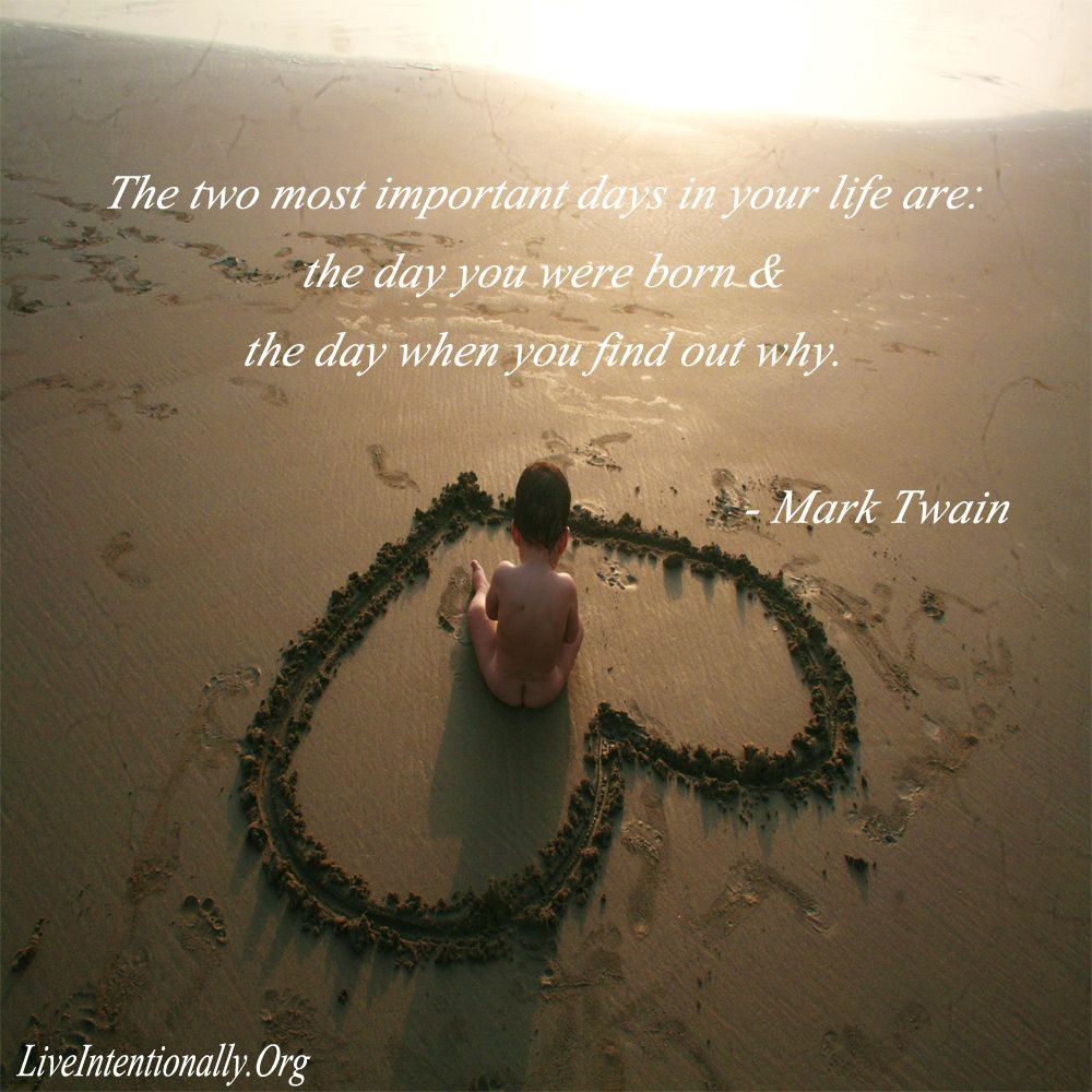 Inspirational quote: The two most important days in your ...