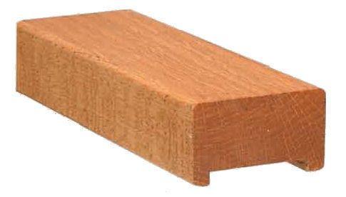 Best 6000 Brazilian Cherry Handrail Red Oak Oak Handrail 640 x 480