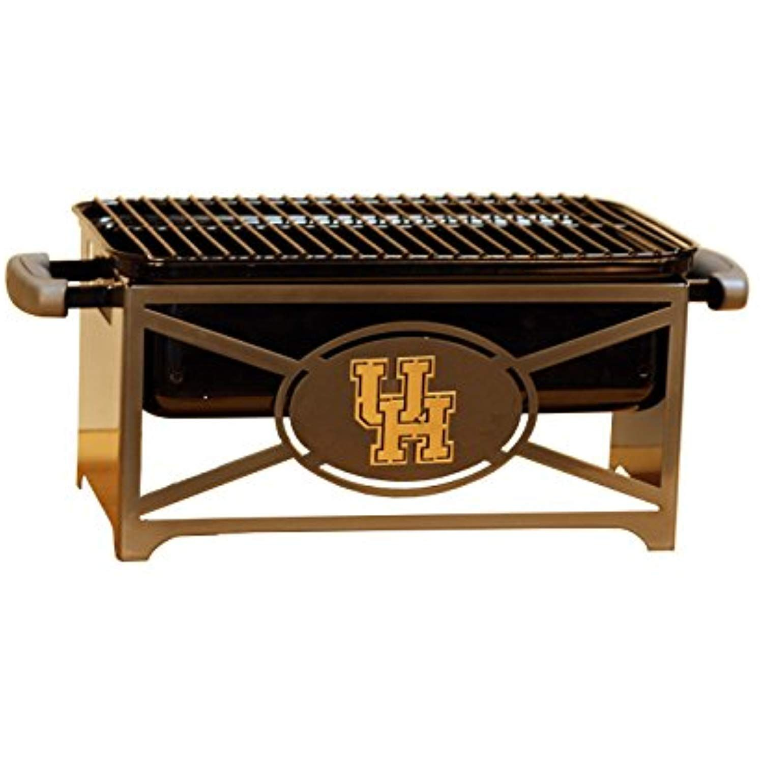 Henson Metal Works 361215 Houston Logo Tailgating Hibachi