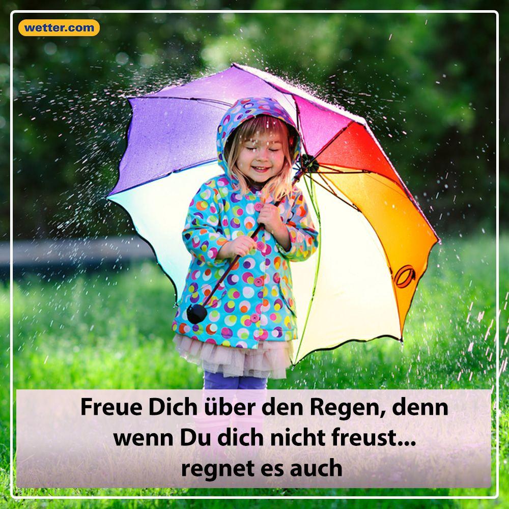 Sprüche Regenwetter