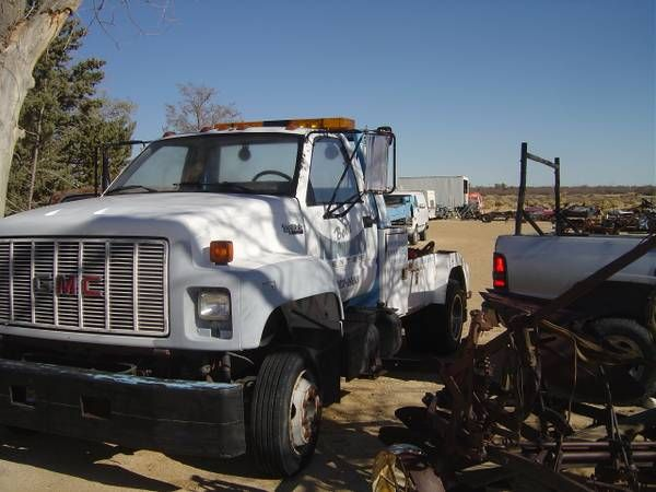 GMC Boom Tow Truck (west lancaster) $6500