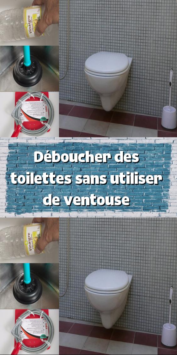 Deboucher Des Toilettes Sans Utiliser De Ventouse En 2020 Deboucher Toilette
