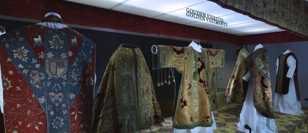 Middeleeuws textiel in Museum Catharijneconvent