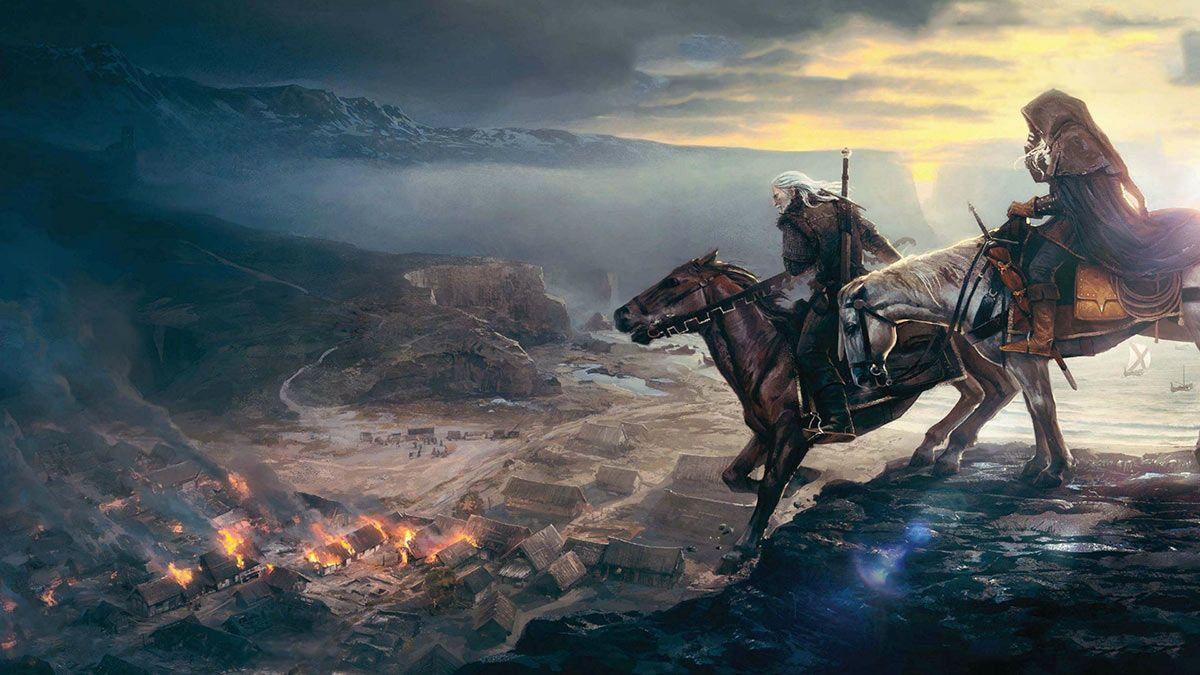 Witcher 3 와일드 헌트 궁극적 인 아트 컬렉션 - 게임