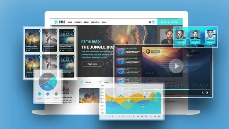 Learn Professional Web Desing In Photoshop Udemy Free Coupon 100 Off Professional Web Design Web Design Learn Web Design