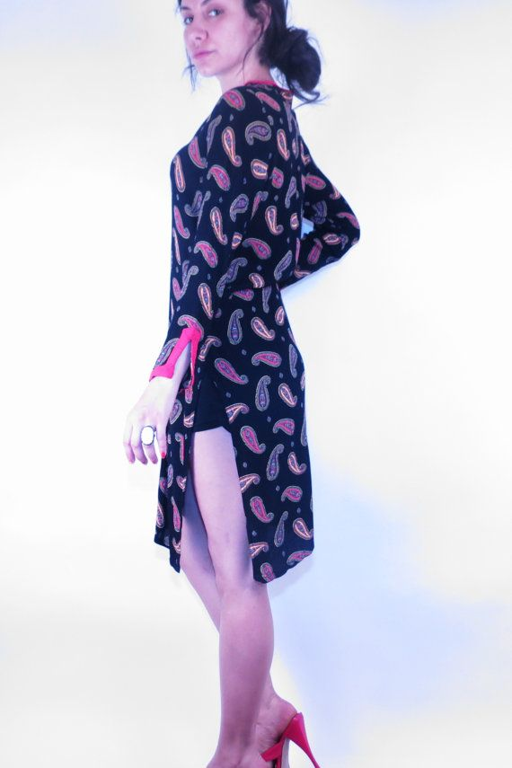 VINTAGE PAISLEY DUSTER that is Perfect for Spring by lechuzablanca, $40.00