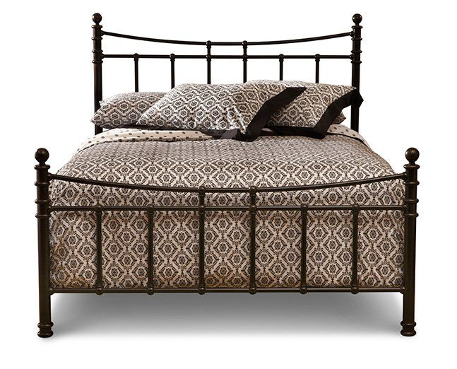 The beautiful + versatile, Stony Brook metal bed @ Furniture Row ...