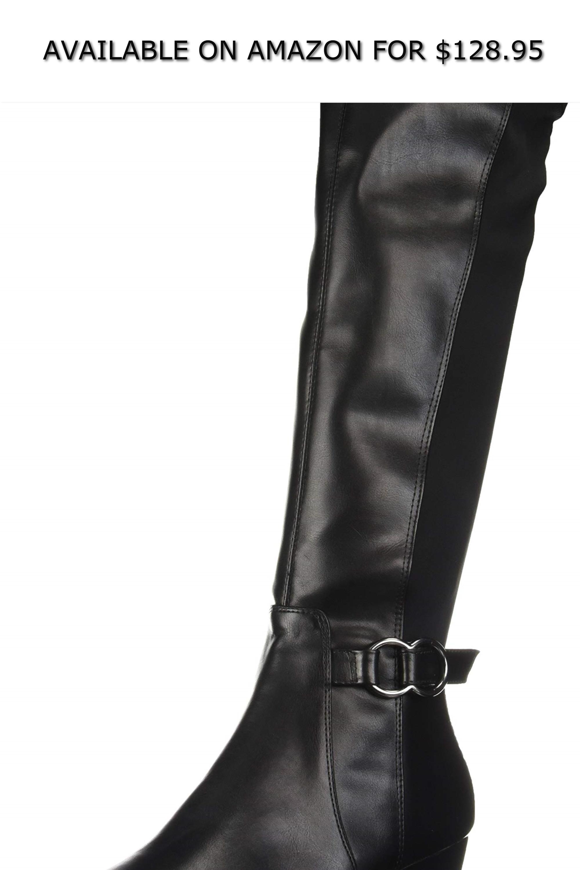 c940fec89cf10 Kenneth Cole REACTION Women's Tip Dress Wedge Heel Tall Shaft Boot ...