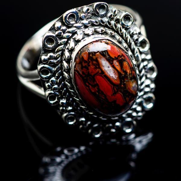 Dinosaur Bone Ring Size 925 925 Sterling Silver RING979944