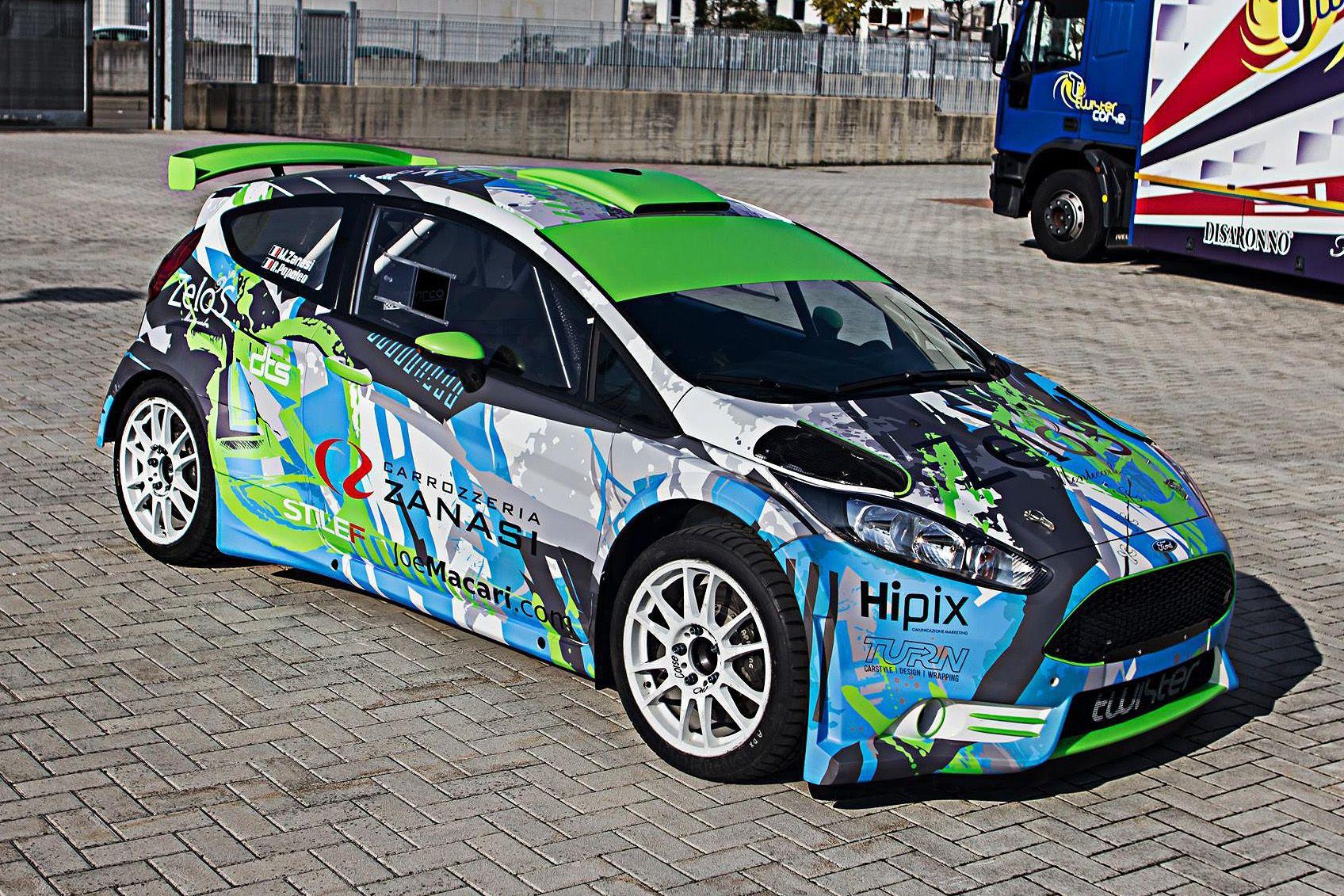 Car design sticker rally - Ford