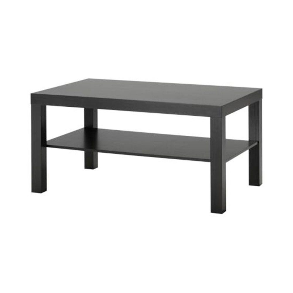 Amazon IKEA Lack Coffee Table Black Brown Kitchen & Dining