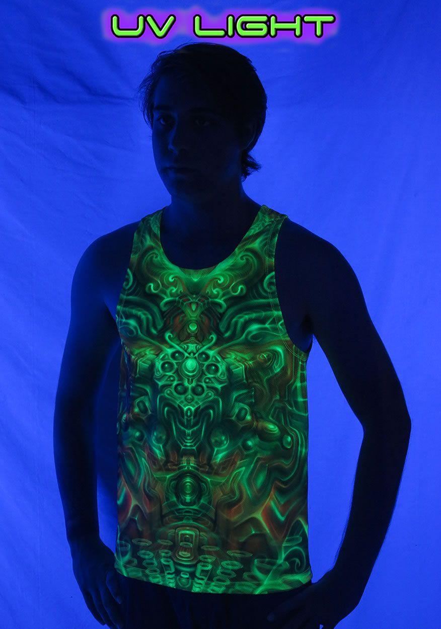 UV Sublime Singlet : Holographic Altar Fully printed singlet