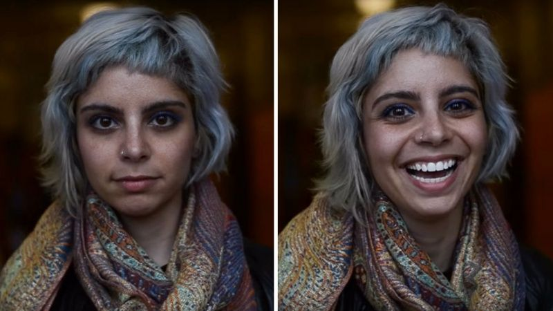 This kind-hearted photographer showed what happens when people are told they're beautiful