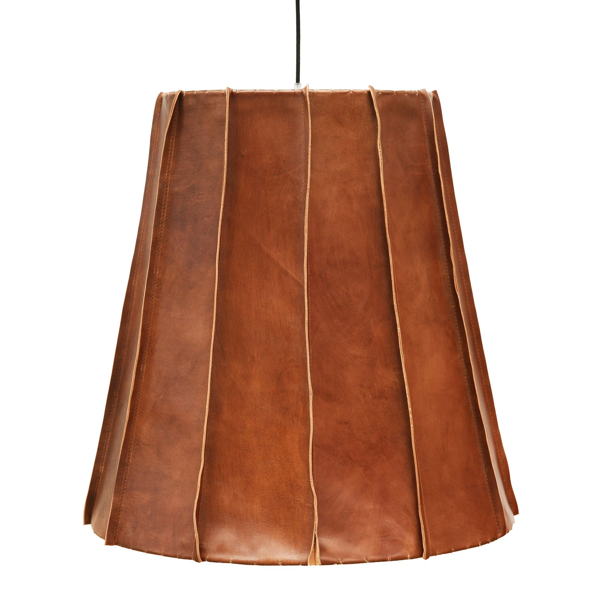 pendant on shade light stella shades leather shop lamp rocky silo products luten lostine