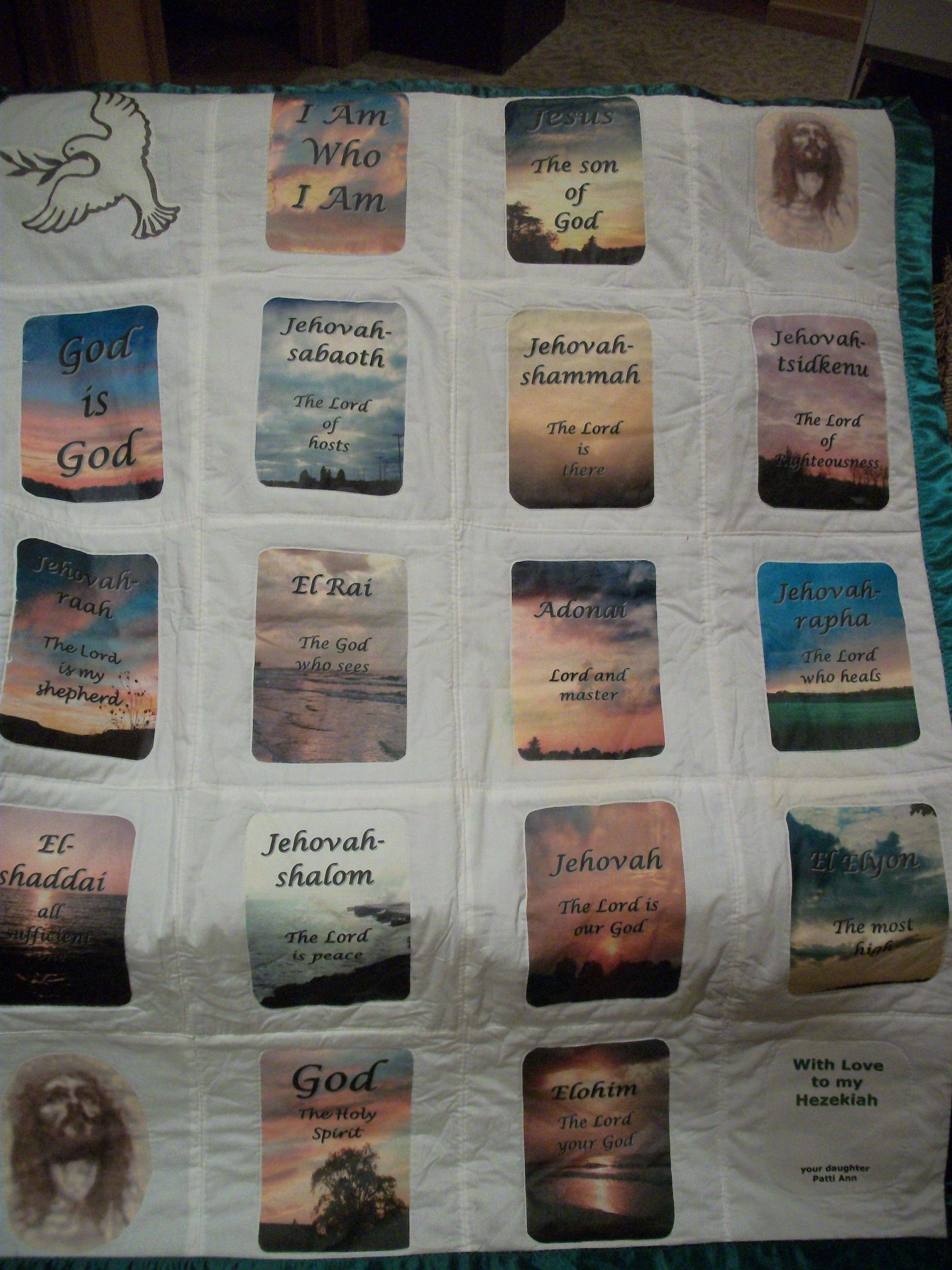 Names Of God Wall Hanging