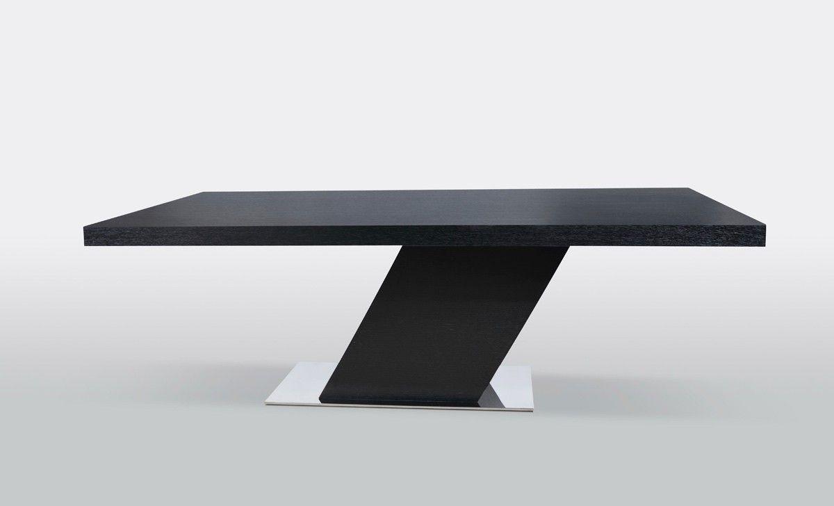 Modrest Flint Modern Wenge Dining Table Lacquer Dining Table Dining Table Rectangular Dining Table