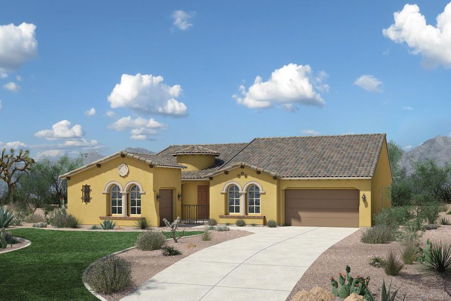 Toll Brothers at Blackstone The Santiago AZ Home Design plan