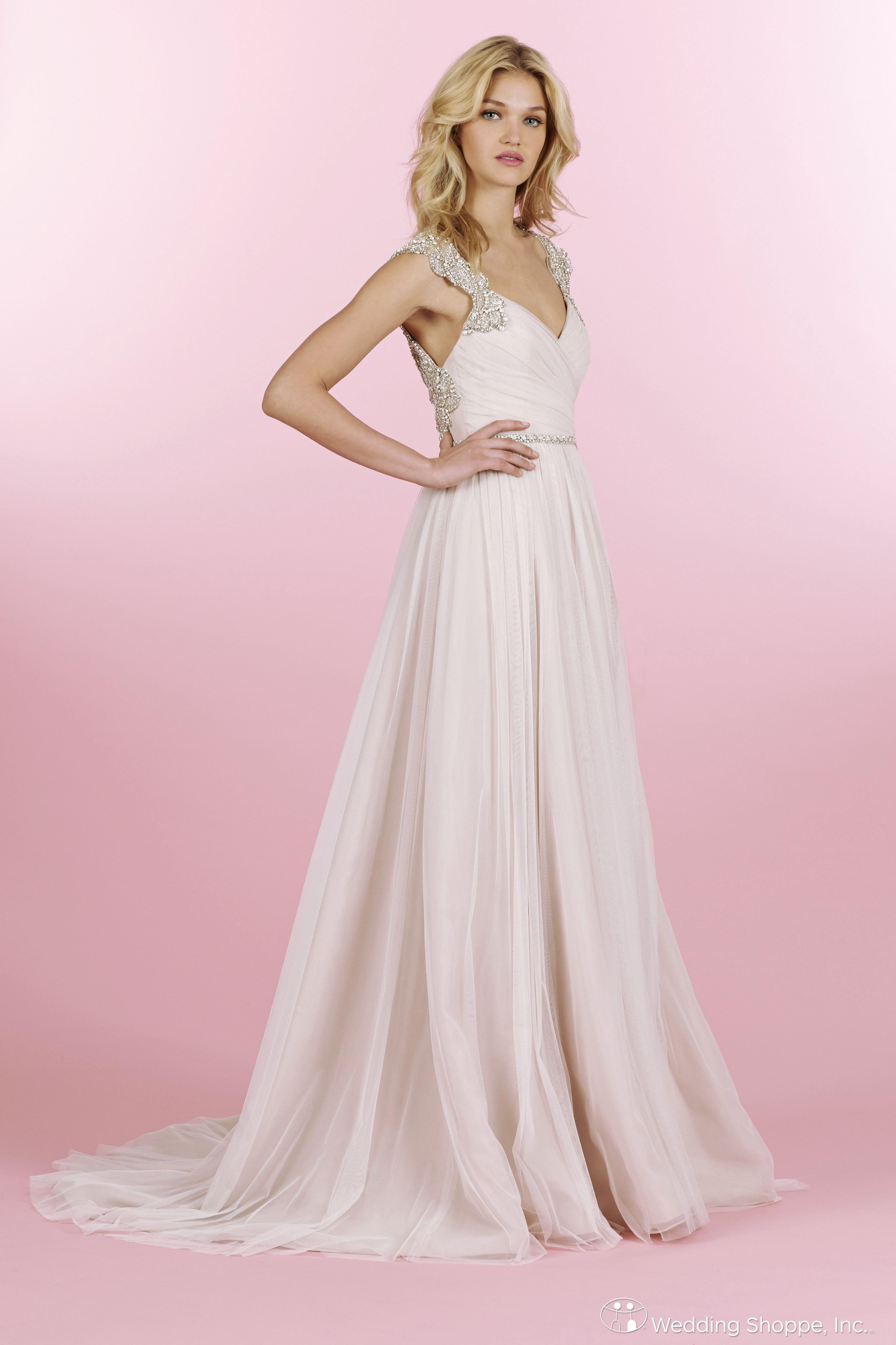 Hayley Paige Bridal Gown Houston / 6456 | Wedding | Pinterest | Novios